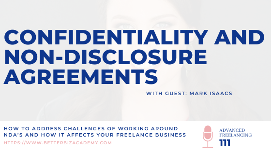 Confidentiality and Non-disclosure Agreements – EP 111