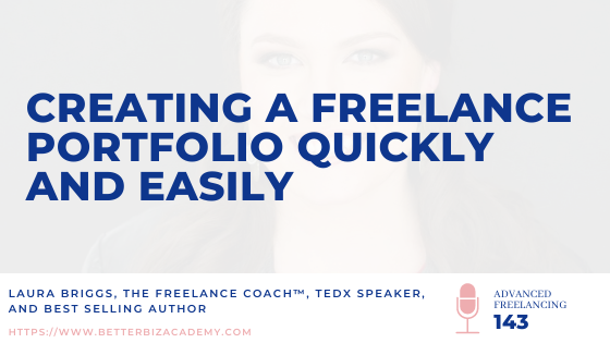 Creating a Freelance Portfolio Quickly and Easily with Alyssa Goulet_Ep 143